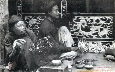 1900s Vietnam Hanoi Painters Decorators