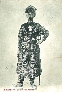 1905 Thanh Thai Emperor of Annam Vietnam