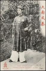 1908 Vietnam Emperor Thanh Thai